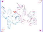 WIP2: Redraw |TwiDash [The Kiss of a Princess]| by TheElementOfMagic
