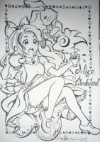 Alice - Steam White Rabbit by loveandpeacetotoro
