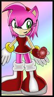 Amy Rose - Save The Heart by Martyna-Chan