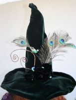 Wicked Green Witch Hat by mermaidencreations