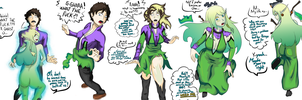 How to become a goddess. (TG Commission) by Gwyndolin115