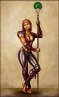 Knight-Captain Melina by SirTiefling