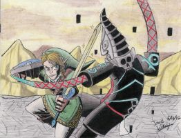 Battling Zant by Twinkie5000
