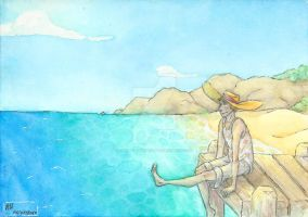 Seaside Serenity by twisted-witch-art