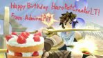 Bday Gift for HaroPetCreatorLT by AdmiralPit