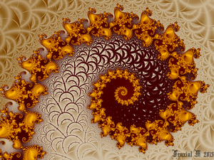 Mandelbrot Spiral by fraxialmadness3