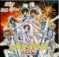 WELCOME 2009 by willgrace