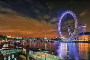 London Eye by fotomanisch