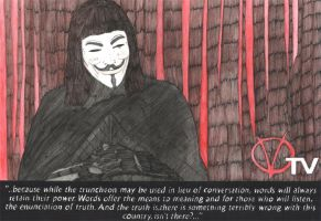 V for Vendetta - TV by Phoenix74n
