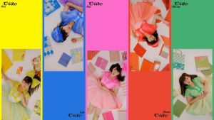 C-ute - Sekaiichi Happy... by hairsprayfusion
