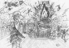 Normandy 1944 the Breakout by nick-metroid
