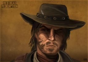 Red Dead John Marston by Mikaress