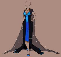 Fashion Adoptable Auction 9 - CLOSED by Karijn-s-Basement