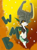 Midna painting WIP by Ruthac-Arus