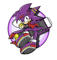Sonic Channel Axel V2 by HoneyL17