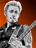 Mike Dirnt by MaddKatzArtStudio
