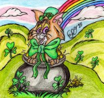 St. Patrick's Day Spirit! by WrongWayWhiskers