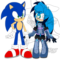.:Sonic and Luna:. by BunnyVirus