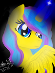 Magic light in the darkness by GABY54232