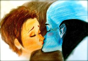Megamind kiss by Jillybean345