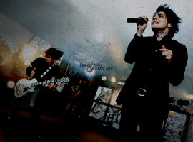 Frank Iero and Gerard Way by Skittles1