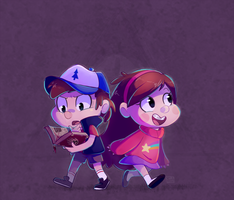 Gravity Falls by ChocoChaoFun