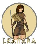 Leahara ReDesign by ZachDB