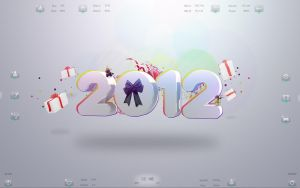 :: HAPPY NEW YEAR 2012 :: by DarkEagle2011