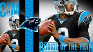 Cam Newton by WackleSchwantz