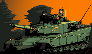 Type 90 (in color!) by ObershutzeWienman