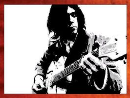 Neil Young Painting -  89.00 by Hodgy-Uk