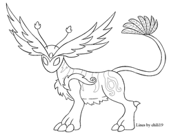 Free lineart by chili19