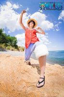 ONE PIECE - Monkey D.Luffy Go by Hasadosh