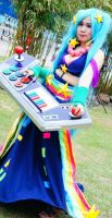 ARCADE SONA - LEAGUE OF LEGENDS by aishicosplay