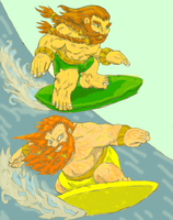 Dwarven Surfoff by LovgrenO