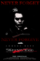 Sweeney Todd Movie Poster 6 by scionjon