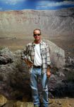 Me at Meteor Crater by Phenix59