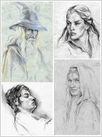 LOTR Characters - Part 3 by Callista1981