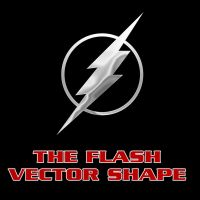 The Flash Vector Shape by Retoucher07030