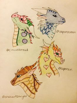 Hatched Adopts #2 by Diamond19Sapphire15