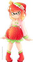 Strawberry Inkling by Ghiraham-Sandwich