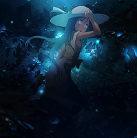 Sign blue girl by Griimmjow