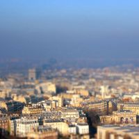 Tilt Shift I Paris by ElizabethLies