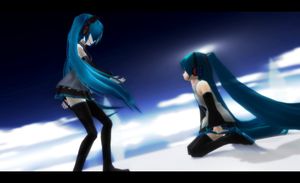 _MMD_ There's enough space.. by xXHIMRXx