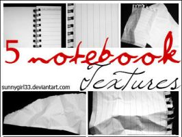 5_notebook textures by SunnyGirl33