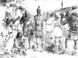 Frankish Warriors by Apollonides