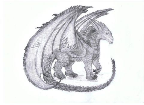 Dragon by AuntieCea