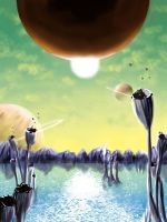Planetary scene by dindon