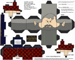 VIS1: George Lucas Cubee by TheFlyingDachshund