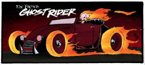 The French Ghost Rider by JLZ74